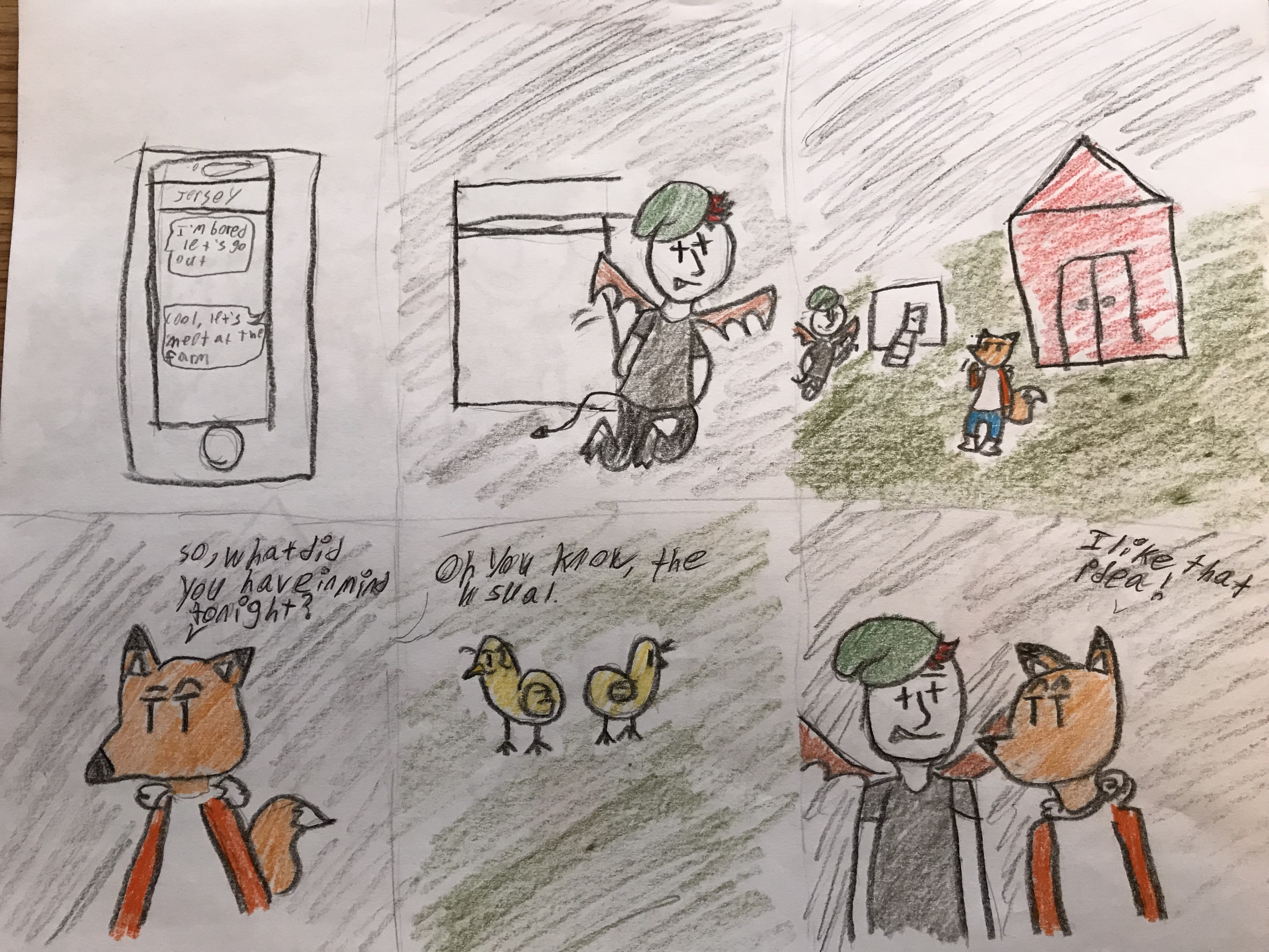 Folk Fox #4: Part 2