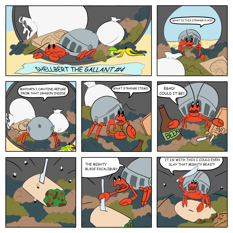 Shellbert the Gallant #4