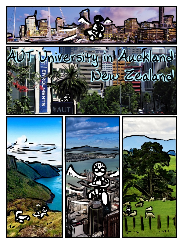AUT University in Auckland, New Zealand